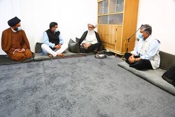 آية الله النجفي يستقبل سفير جمهورية الهند في العراق