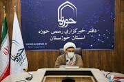 تصاویر/ بازدید مدیر حوزه علمیه خواهران خوزستان از دفتر خبرگزاری حوزه