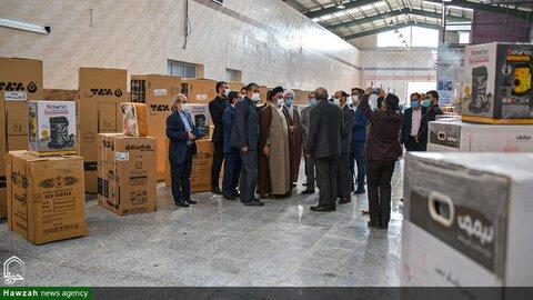 بالصور/ إهداء جهاز الزواج إلى العوائل المتعففة في محافظة أصفهان