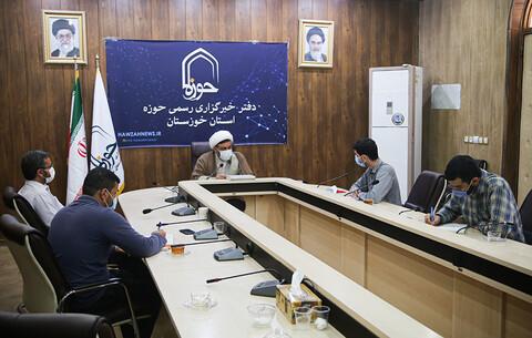 بازدید مدیر حوزه علمیه خواهران خوزستان از دفتر خبرگزاری حوزه در خوزستان