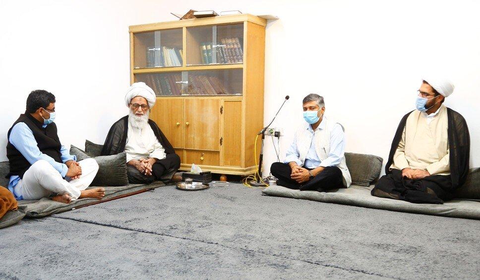 آیتالله بشیر نجفی بر توسعه روابط عراق و هند تأکید کردند