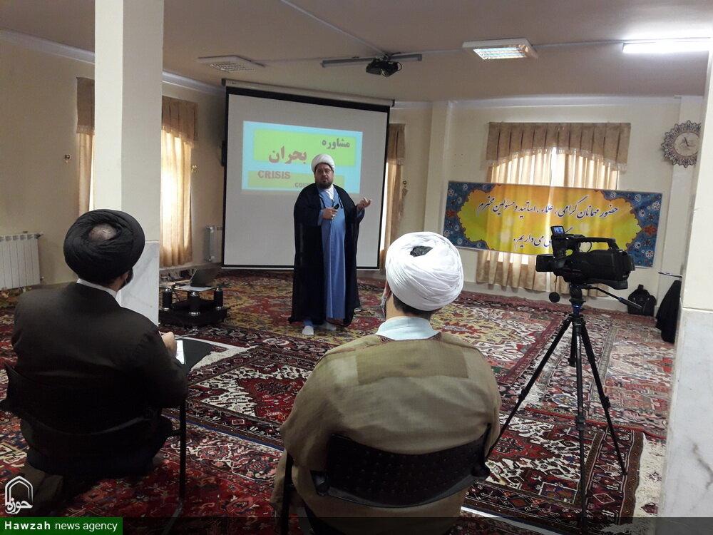 تصاویر/ دوره مشاوره بالینی طلاب و روحانیون آذربایجان شرقی -۱