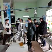ابتکار امام محلهی کدیور شهر سمنان | راهاندازی کارگاه خیاطی در ایام کرونا