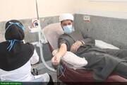 برگزاری ویژه برنامه «نذر خون» در بقعه متبرکه شاهداعی الی الله(ع) شیراز