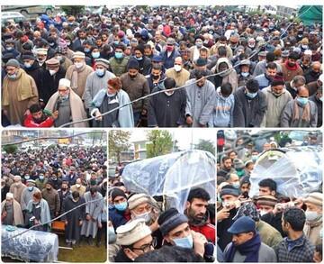 کشمیر، مذہبی و حریت کانفرنس کے بزرگ رہنماء مولانا محمد عباس انصاری کی اہلیہ کا انتقال/ صحافتی سیاسی ،سماجی اور مذہبی شخصیات اور جماعتوں کا اظہار رنج
