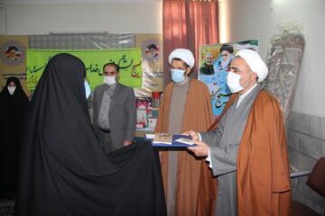 طلاب جهادی مدرسه علمیه خواهران کوثر قزوین تجلیل شدند+ عکس
