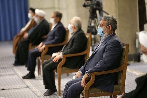 دیدار اعضای شورایعالی هماهنگی اقتصادی با رهبر معظم انقلاب