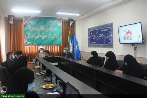 تصاویر/ آیین افتتاح رسمی ساختمان مدیریت حوزه علمیه خواهران خوزستان