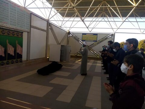 تصاویر شما / تغسیل و تدفین بیماران کرونایی توسط طلاب جهادگر بسیجی رفسنجان