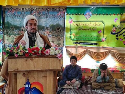 جشن ولادت امام حسن عسکریؑ کی ولادت کے موقعہ پر حوزہ علمیہ اثناعشریہ کرگل میں تقریب کا اہتمام