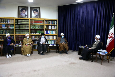 دیدار نمایندگان طلاب و فضلای استان کهگیلویه و بویراحمد با آیت الله اعرافی