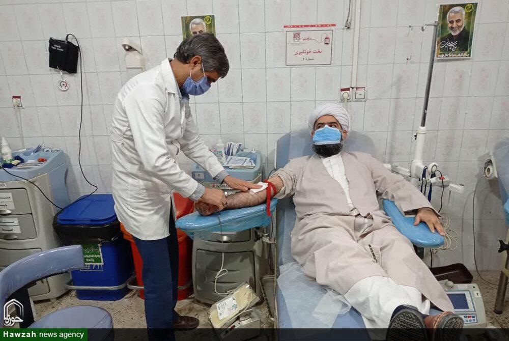 امام جمعه شوش به پویش اهداء خون پیوست+عکس