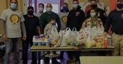 مسلمانان آمریکا در جشن شکرگزاری به یاری نیازمندان شتافتند