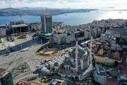 مراحل پایانی ساخت مسجد تقسیم در ترکیه + تصاویر