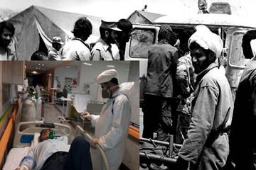 خدمات روحانیت جهادی در کنار کادر درمان قابل تقدیر است