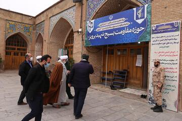 تصاویر/ بازدید نماینده ولی فقیه در قزوین  از حوزه های مقاومت بسیج