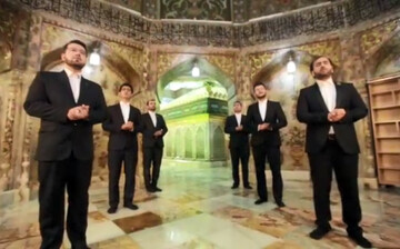 فیلم   «کوثر ایران» با اجرای گروه مدیحه سرایی معراج