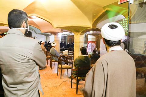 تصاویر/ کارگاه آموزشی  «تبلیغ معنویت و امید دهی به بیماران در محیط بیمارستان » ویژه طلاب جهادی حوزه علمیه اصفهان