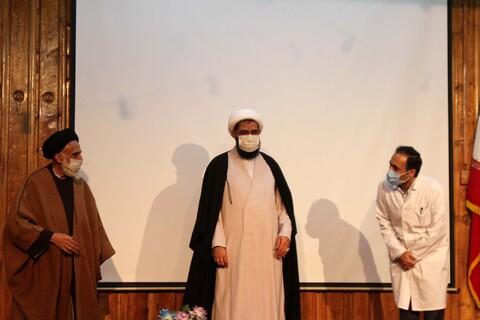 گزارش تصویری/  آئین افتتاحیه حضور نیروهای جهادی همدان در مراکز درمانی