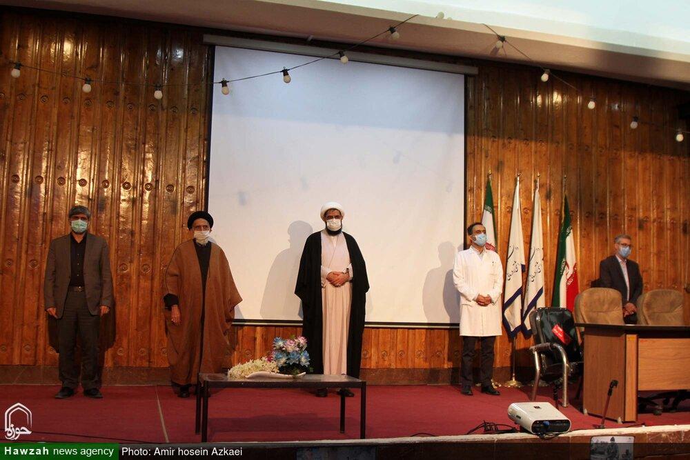 تصاویر/ مراسم آغاز به کار نیروهای جهادی همدان در مراکز درمانی