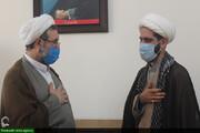 تقدیر مدیران نهادهای حوزوی از فرمانده بسیج طلاب خوزستان