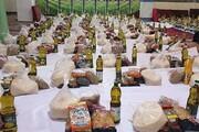 توزیع ۴۰۰ بسته معیشتی بین نیازمندان مهریزی