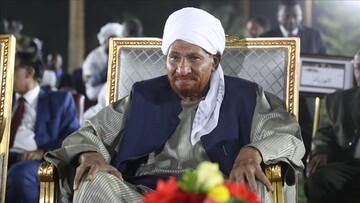 رهبر حزب امت سودان درگذشت