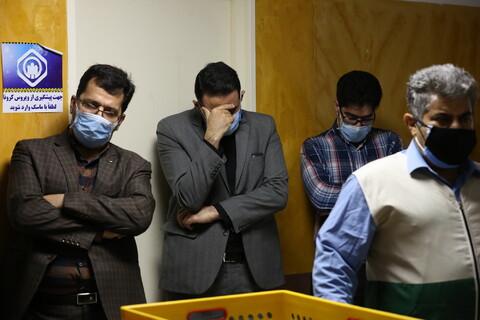 تصاویر/ پخش سمنو نمایندگی  آستان قدس رضوی در بیمارستانهای قم