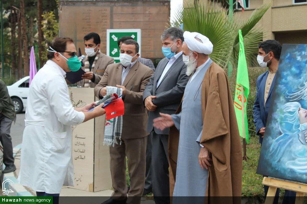 تصاویر/ تجلیل از مدافعان سلامت کاشان