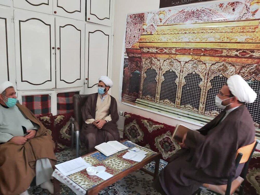 برگزاری امتحانات شفاهی مدارس علمیه استان ایلام به صورت مجازی