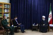 تصاویر/ دیدار مدیرکل ورزش و جوانان استان قم با آیت الله اعرافی