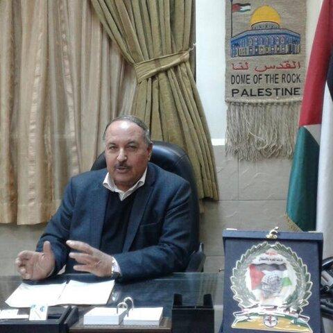 خالد عبد المجید دبیرکل جبهه مبارزه مردمی فلسطین