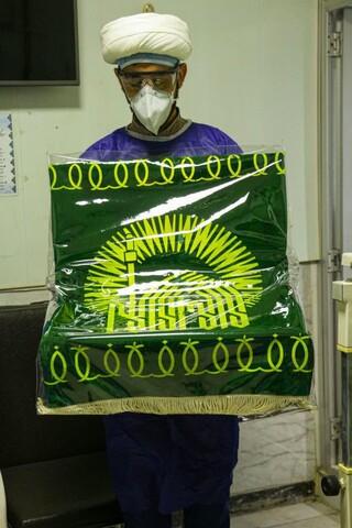 تصاویر/ حال و هوای رضوی در بیمارستان های کرونایی یزد