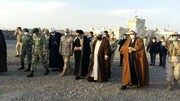 بازدید حجت الاسلام و المسلمین آل هاشم از پاسگاه مرزی پلدشت + عکس