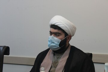 تصاویر/ نشست اعضای «یاوران سلامت» حوزه علمیه کردستان