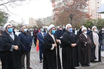 تجمع طلاب و دانشجویان تبریزی در اعتراض به ترور شهید فخری زاده