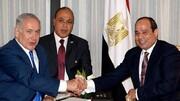 سفر رسمی نتانیاهو به مصر