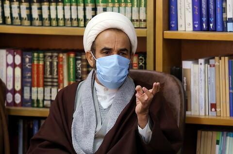 دیدار اعضای ستاد اعتکاف کشور با آیت الله اعرافی