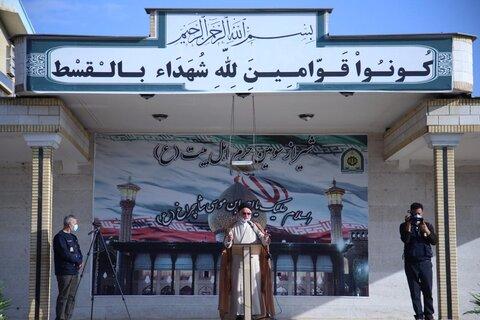 دبیر جامعه روحانیت شیراز