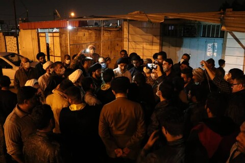 بازدید شبانه نماینده ولی فقیه در خوزستان از بندر امام خمینی و شهر چمران