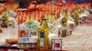 توزیع بستههای معیشتی و لوازمالتحریر بین طلاب بیبضاعت نورآبادی