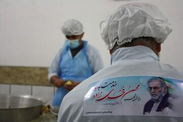 تصویر شهید فخری زاده بر لباس خدمت جهادگران سمنانی نقش بست + عکس