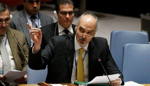بشار الجعفری معاون وزیر امور خارجه سوریه