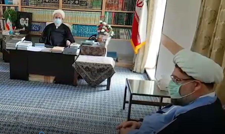 فیلم | تصاویری از سفر مسئول کمیته مشاوره حوزوی بحران به یزد