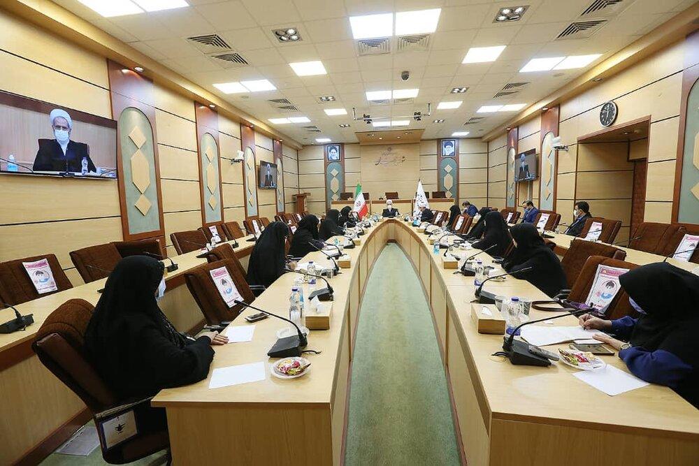 آیت الله اعرافی در دیدار اعضای فراکسیون زنان مجلس