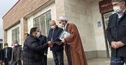 تصاویر / تقدیر و تجلیل از زحمتکشان آرامستان گلشن زهرا مراغه