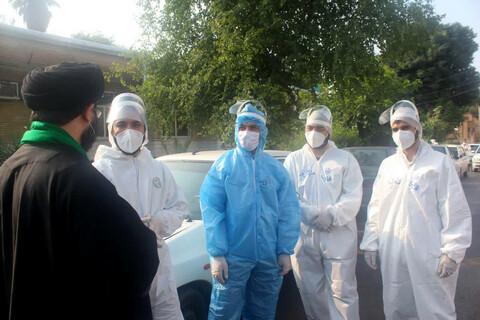 تقدیر مدیر حوزه علمیه خوزستان از طلاب جهادی مستقر در بیمارستانهای کرونایی اهواز