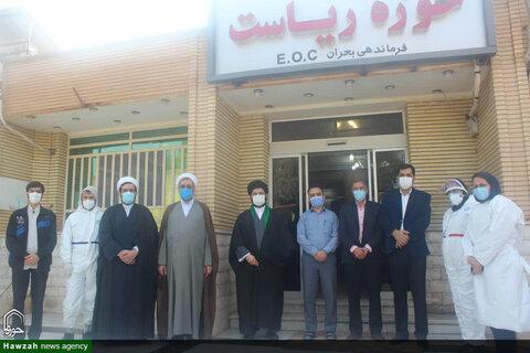 تصاویر/ تقدیر مدیر حوزه علمیه خوزستان از طلاب جهادی و مسئولان دانشگاه علوم پزشکی اهواز