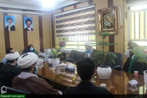 تقدیر مدیر حوزه علمیه خوزستان از طلاب جهادی و مسئولان دانشگاه علوم پزشکی اهواز