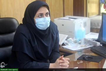 تقدیر رئیس بیمارستان رازی اهواز از زحمات طلاب جهادی